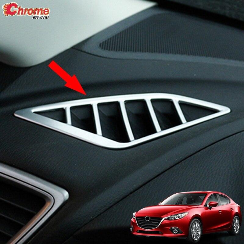 For Mazda 3 Axela 2014-2018 Chrome Inner Door Handle Bowl Cover Trim Frame Bezel