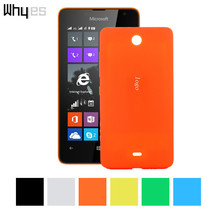 For Microsoft Lumia 430 Protector Replace Original back cover Battery case PC cases Candy color Battery cover For Microsoft 430