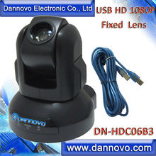 Free Shipping DANNOVO USB HD 1080P PTZ  Web Camera,3x Optical Zoom,Support Skype, Microsoft Lync(DN-HDC06B3)