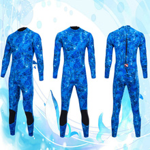 Kayak Canoe 3mm Neoprene Men Wetsuit Scuba Diving Surfing Back Zip Warm Full Suit S/M/L/XL/XXL for Snorkeling Swimming Acc