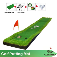 Golf Putting Mat 50x300cm Indoor Training Putter Pad Outdoor Practice Golf Green Trainer(China)