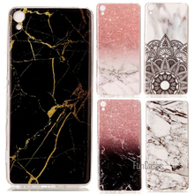 For Sony Xperia XA Phone Cases Soft Silicon Protector Shell Marble Rock Case Cover Etui Hoesje Carcasa Capinhas Coque Capa Funda
