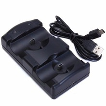 USB Dual Charging Powered Dock Charger For Sony PlayStation 3 Controller Joystick For Sony PS3 Controle and Move Navigation(China)