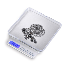 3000g x 0.1g Digital Pocket Scale Jewelry Scales Electronic Kitchen Weight Scale Balance Bread Vegetables Tea Medicinal Weight(China)