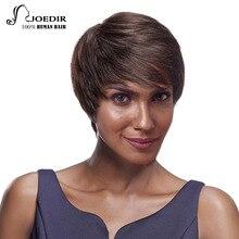 Joedir Hair Brazilian Remy Hair Straight Color 2 Short Human Hair Wigs Women Bob Wigs Hair Weaving