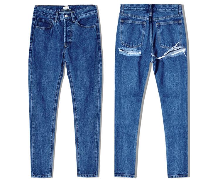Super Sexy Bu Ripped Hole Jeans Slim Fit Women Jeans High Waist Exposed Hips Fashion Denim Women Boyfriend Skinny Jeans Femme (16)