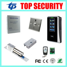 Biometric smart card RFID card punch time attendance time clock, 125KHZ RFID card access control system ZK SC700 door control