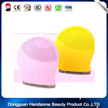 Silicon Facial Cleansing mini Brush Best Face Cleaning Massager Brush Electric Facial Cleansing Brush