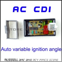 5PIN AC CDI Box Auto variable ignition angle for Scooter Monkey Dirt BIke Go-Kart ATV DIO 50 Spree XR TGB Laser R5 R9 TGB(China)