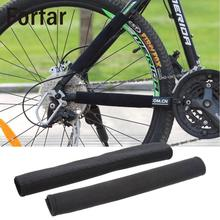 Forfar Bike Cycling Frame Chain Posted Protector Care Cover Protection Guards Black