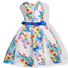 Buy Baby Girl Princess Dress Kids printing Sleeveless Dresses Toddler Girl Children European American Fashion Clothing for $13.35 in AliExpress store