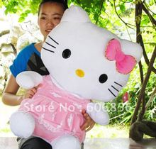 TOY hello kitty wholesale plush toys 75cm or 50cm  size stuffed animal toy high quality doll  1pcs