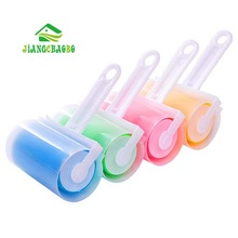 1 Pc Washable Sticky Hair Sticky Clothes Sticky Buddy For Wool Dust Catcher Carpet Sheets Hair Sucking Sticky Dust Roller Drum(China)