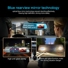 TFT LCD Mirror Dual Camera monitor with dual camera and 12 million shooting pixel with ADAS traffic safety assistant