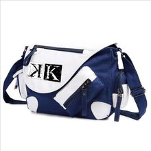 WILD HERO New Anime K Project Cosplay Messenger Bag Suoh Mikoto Mutifunctional Students Book Shoulder Bag(China)