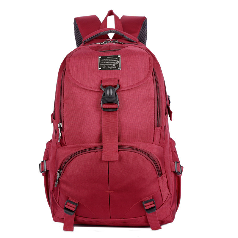 Waterproof Computer Backpack Big Capacity For Men Women Student Fashion Leisure Laptop Bag Oxford Cloth Pure Color Bag BP0139<br>