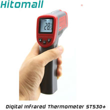 Pocket Non-Contact Digital Laser Temperature Gun IR Infrared Thermometer  -32 to 550C/-25.6 to 986F Emissivity 0.95 12:1 ST530+