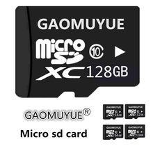 GAOMUYUE Micro SD Card C10-XC 16GB 32GB 64GB Microsd Flash in Memory Card C10 Mini SD Card 32GB 16GB + tf cards SD adapter DJ1(China)