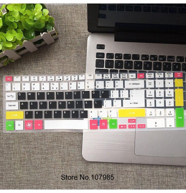 Keyboard Skin Cover Protector for Acer Aspire E5-511,E5-551G,E5-571,E5-572