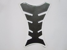 Carbon Fiber  Universal Motorcycle Oil Fuel GasTank Pad Cover Tank Protector Decal sticker FOR Honda Yamaha Suzuki Kawasaki
