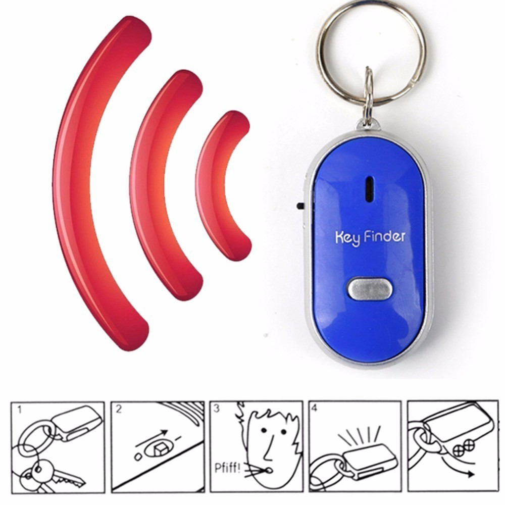 Key Finder With Whistle Response 10