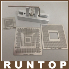 BGA Reball Stencil Kit for PS3 GPU CPU CXR714120 Repair Templates with 1 Stencil jig Holder Reballing Station