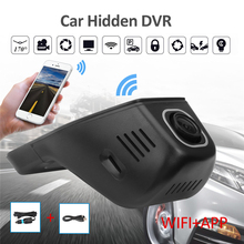 Geartronics 2017 Newest Car Dvr Mini Wifi Car Camera Full HD 1080P Dash Cam Registrator Video Recorder Camcorder Dual Lens Dvr A(China)