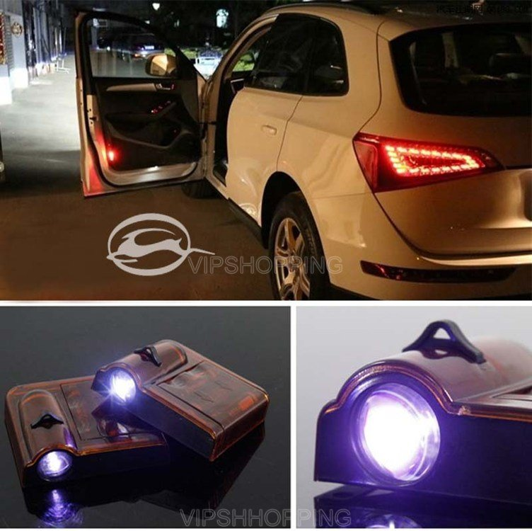 Wireless Car Door Led Welcome Logo Shadow Projection Lamp For IMPALA  #1889*2<br><br>Aliexpress