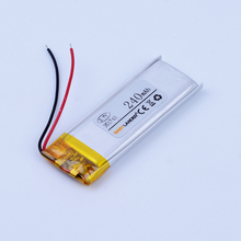 351743 3.7V 240mAh Rechargeable li Polymer Li-ion Battery For pen MP3/MP4/Game Player speaker toys bluetooth headset