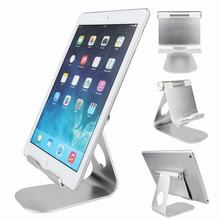 Tablet Stand Holder aluminum Desktop Holder Table Stand for iPhone 7 Samsung S7 Edge iPad Pro Portable Adjustable Charging Dock(China)