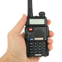 BAOFENG UV-5R Professional Dual Band Transceiver FM Two Way Radio Walkie Talkie Transmitter ( Black )