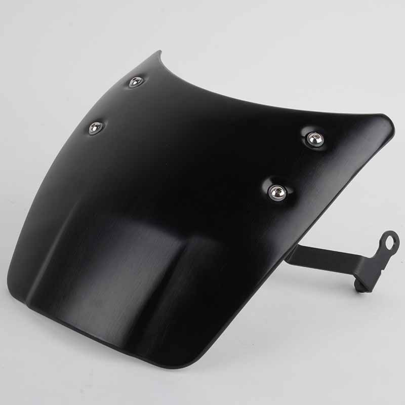 Aluminium Windshield Windscreen Headlight Fairing for BMW R Nine T Black Silver With Mounting Accessories