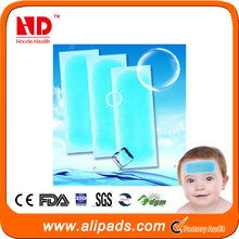 Free shipping China gel fever cool patch supplier wholesale fever cool patch for Baby(100 pcs)