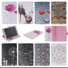 For iPad Air Stand Magnetic Tablet PU Leather Case Cover For Apple iPad air iPad 5 With Card Slots Tablet Accessories KF433D(China)