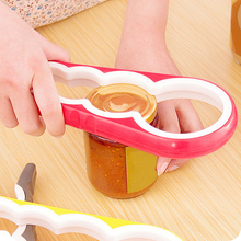 New Arrival 2016 4 In 1 Creative Gourd Shape Can Opener Screw Cap Jar Bottle Wrench Kitchen Tool
