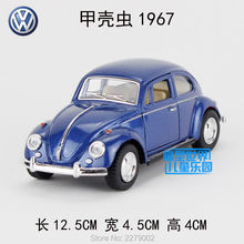 KINSMART Die-Cast Metal Model/1:32 Scale/1967 Volkswagen Classical Beetle toy/Pull Back Car/for children's gifts or collection