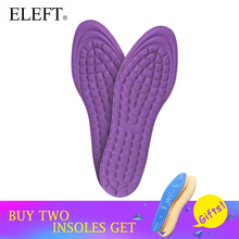 ELEFT Memory foam feet insoles massage for women men foot care pad pads insert shoes soles accessories inserts 3032(China)