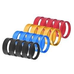 5 шт., проставочные рулевые алюминиевые кольца для вилки велосипеда