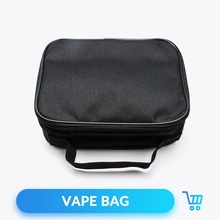 Quartz Banger E Cigarette Vapor Pocket Vape Bag Case Double Deck Vapor Bag for Mod Atomizer Tank RTA RDA RDTA