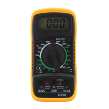 Buy GYTB ANENG Digital multimeter xl830l voltmeter ammeter multimeter AC DC volt ohm tester LCD test current overload protection for $6.55 in AliExpress store