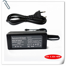 AC Adapter Battery Charger For Samsung ATIV Smart PC XE500T1C-A01NL ATIV Smart PC 500T 12V 3.33A 40W Laptop Power Supply Cord