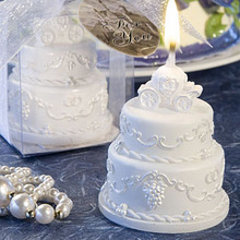 4pcs/lot Wedding candles party home decoration scented wedding favor candle birthday cake candle pumpkin car art decor(China)