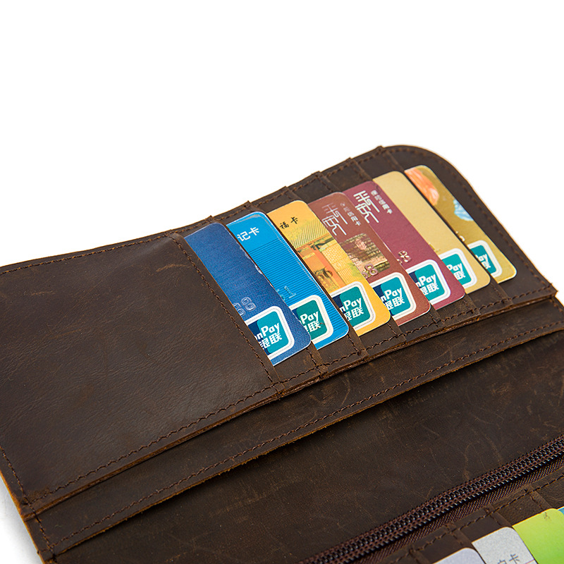 chain leather men wallets (9)