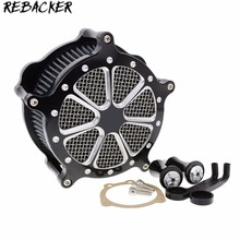 Motorcycle accessories CNC Crafts Air Cleaner Filter Intake for Harley Sportster Iron 883 1200 48 2004-2015