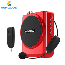 NEWGOOD Speaker voice amplifier Mini megaphone portable voice amplifiers for teachers Loudspeaker With USB
