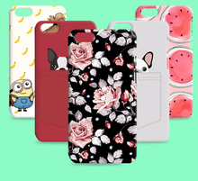 Russia Brazil flower Skin Hot sale cover Cat promotional discounts Cartoon case for Iphone 6s plus 5.5 inch 5.5""