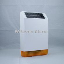 MD-326R Solar Powered Outdoor Wireless Sound and Flash Siren w rechargeable Battery for GSM PSTN Home Alarm System
