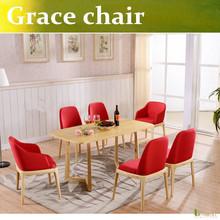 U-BEST  high quality Poliform Grace Chair of European cafe chair designer chairs West Nordic imitation wood chair