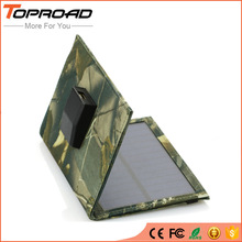 Foldable Solar Panel Cell Folding External Battery Solar Charger Portable Power Bank USB Mobile Chargers for Cell phones mp3 GPS(China)