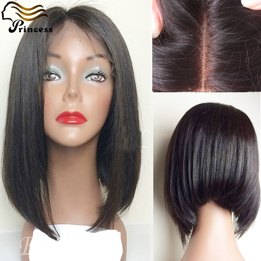 7A Brazilian Full Lace Human Hair Bob Wig For Black Woman Glueless Bob Wig With Baby Hair Straight Lace Front Bob Wigs In Stock<br><br>Aliexpress